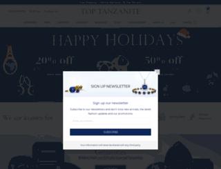 toptanzanite.com screenshot