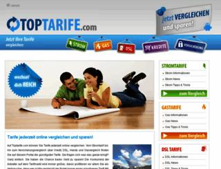toptarife.com screenshot