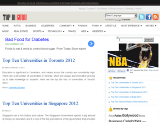 toptenguru.com screenshot