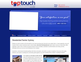 toptouch.com.au screenshot