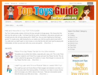 toptoysguide.org screenshot