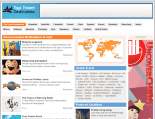toptraveldestinations.org screenshot