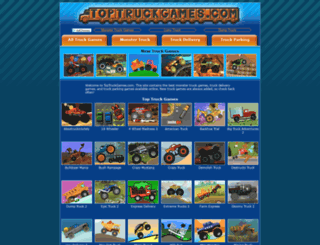 toptruckgames.com screenshot