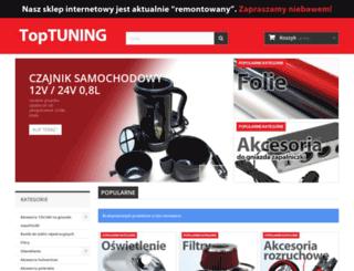 toptuning.pl screenshot