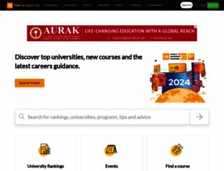 topuniversities.com screenshot