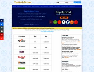 topupgold.com screenshot