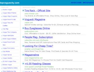 topvoguecity.com screenshot