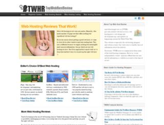topwebhostingreview.co screenshot