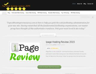 topwebhostingreviews2015.com screenshot