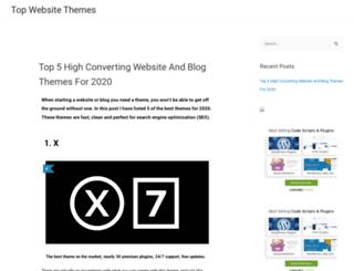 topwebsitethemes.com screenshot