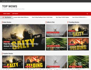 topwows.com screenshot