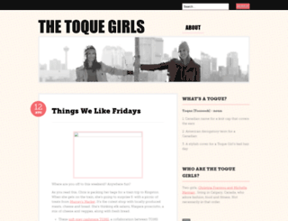 toquegirls.wordpress.com screenshot