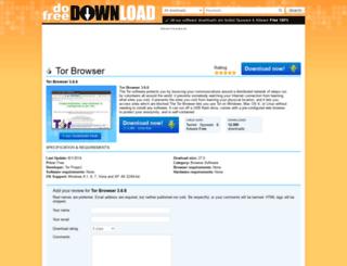 tor-browser.dofreedownload.com screenshot