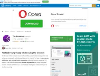 tor-browser.en.softonic.com screenshot