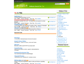 tor.brothersoft.com screenshot