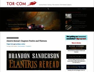 tor.com screenshot