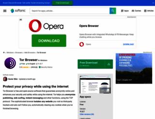 tor.en.softonic.com screenshot