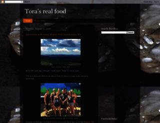 torasrealfood.blogspot.com screenshot
