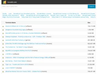 torbtdamn.org screenshot