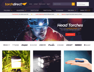 torchdirect.co.uk screenshot