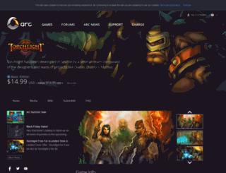 torchlight.perfectworld.com screenshot