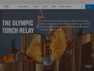 torchrelay.sochi2014.com screenshot