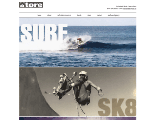 toresurfboards.com screenshot