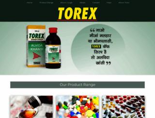 torex.co.in screenshot