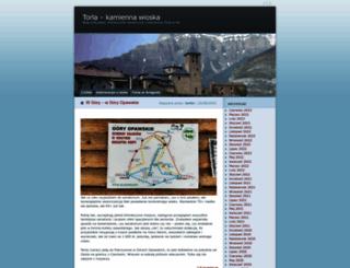 torlin.wordpress.com screenshot