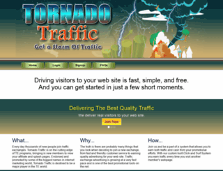 tornadotraffic.info screenshot