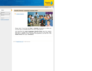 tornante2.rosettastoneclassroom.com screenshot