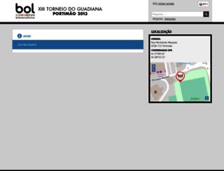 torneiodoguadiana.bilheteiraonline.pt screenshot