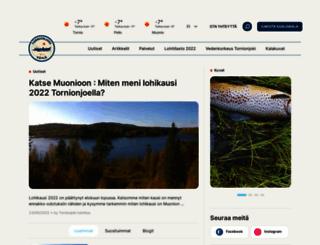 tornionjoki.fi screenshot