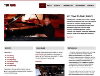 tornpiano.com screenshot