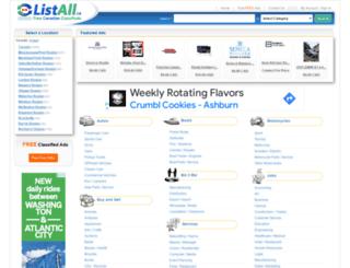 toronto.listall.ca screenshot
