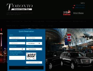 torontoairportlimotaxi.ca screenshot