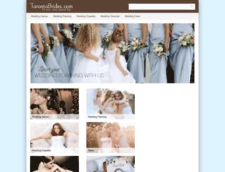 torontobrides.com screenshot
