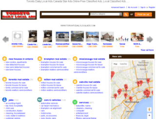 torontodailylocalads.com screenshot