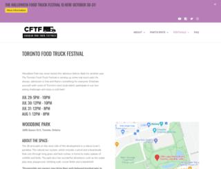 torontofoodtruckfestival.com screenshot