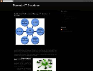 torontoitservices.blogspot.in screenshot
