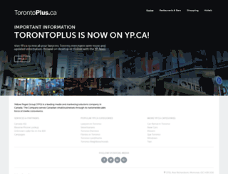 torontoplus.ca screenshot
