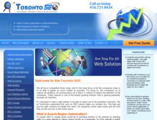 torontoseo.ca screenshot