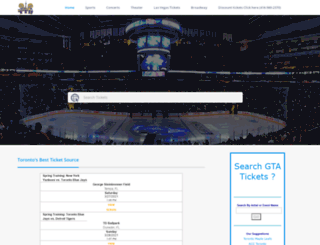 torontoticketbrokers.com screenshot