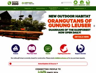torontozoo.com screenshot