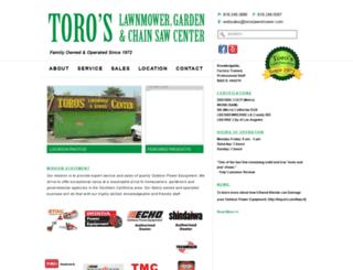 toroslawnmower.com screenshot