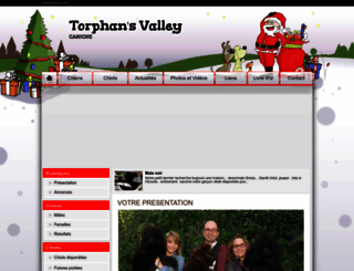 torphansvalley.chiens-de-france.com screenshot