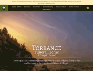 torrancefuneralhome.com screenshot