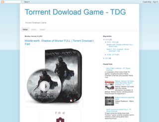 torrentdowloadgame.blogspot.com.tr screenshot