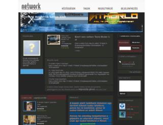 torrentoldalakcserelye.network.hu screenshot