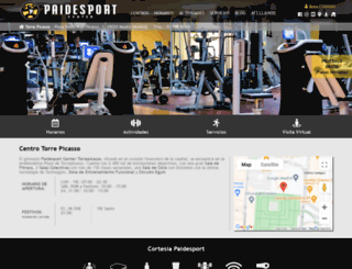 torrepicasso.paidesportcenter.com screenshot